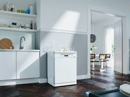 Отдельно стоящая модель посудомойки