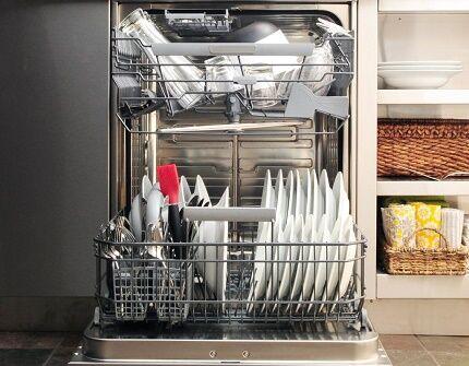 Модель посудомойки с турбосушкой