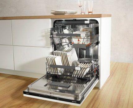 Открытая посудомойка Gorenje