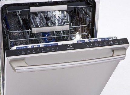 Ассортимент посудомоек Электролюкс
