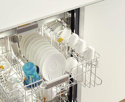 Неплотное расположение посуды