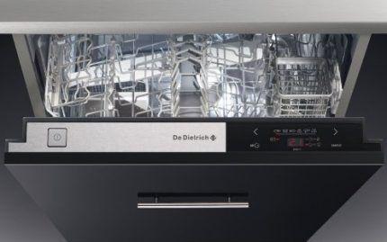 Сенсорное управление посудомойки