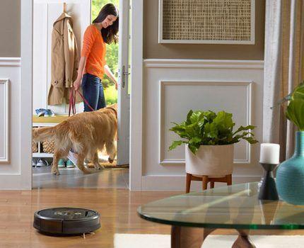 Робот-пылесос в доме с животными