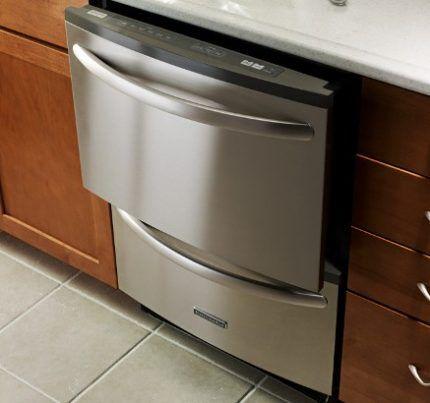Встроенная модульная посудомойка