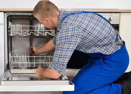 Ремонт посудомоечного аппарата