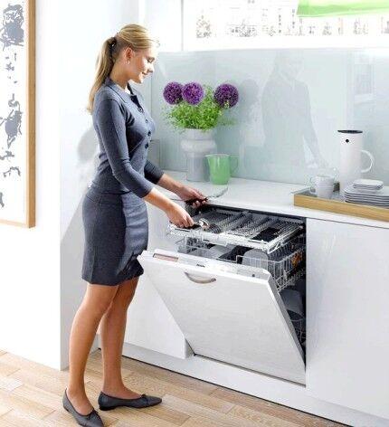 Преимущество встраиваемой посудомойки