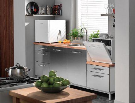 Настольные посудомоечные машины: обзор лучших моделей + правила выбора посудомоек