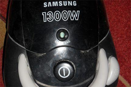 Дефектная кнопка пылесоса Самсунг