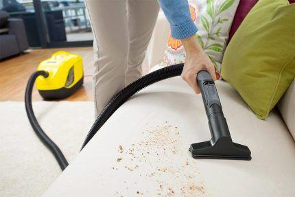 Уборка помещения бытового назначения