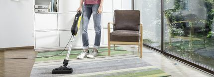 Уборка коврового покрытия