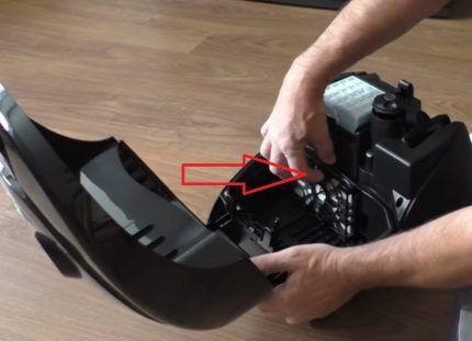 Фильтр защиты двигателя