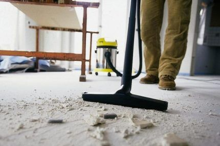 Промышленный пылесос и его характеристики
