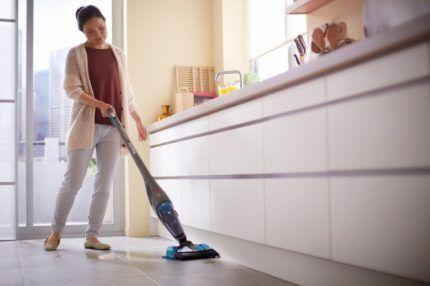 Проводной пылесос – лучшее решение для большого жилья