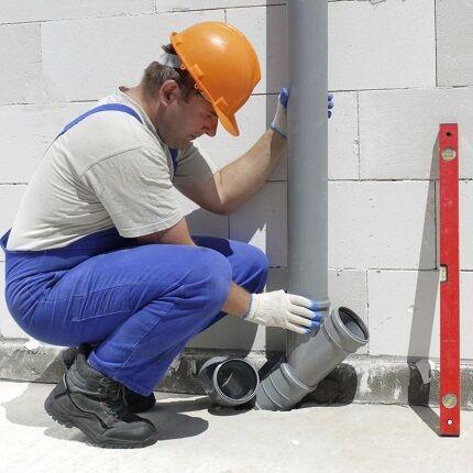 Устройство канализации в частном доме схема