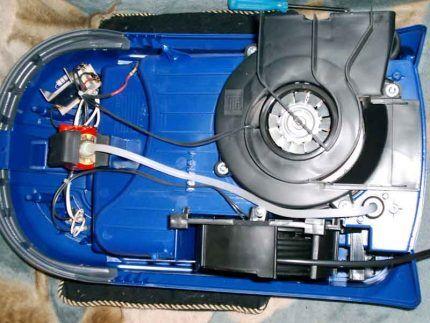 Узлы и механизмы агрегата