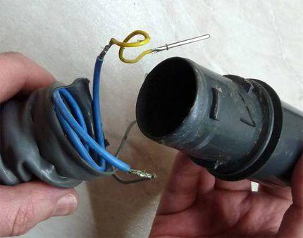 Шланг с проводами