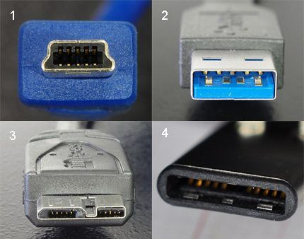 Соединители USB-3.х