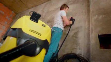 Назначение строительного пылесоса