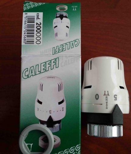 Термоголовка бренда Caleffi