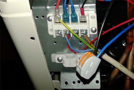 Электрическая сеть сплит системы