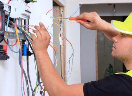 Электропроводка в доме профессионально