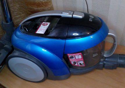 Пылесос LG2000w с прозрачным пылесборником