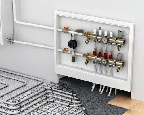 Как правильно подключить теплый пол к системе отопления – возможность подключения, необходимое оборудование, этапы монтажа