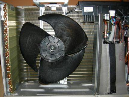 Вентилятор в климатической технике
