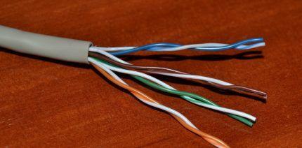 Восьмижильный сетевой кабель