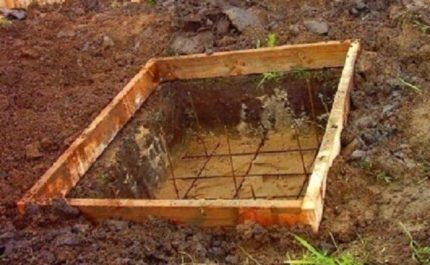 Армирование фундамента для печки