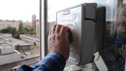 Робот пылесос для окон