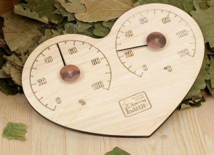 Гидрометр для бани и сауны
