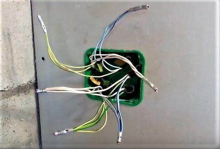 Опрессовка проводов гильзами