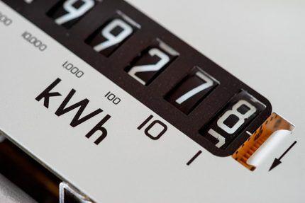Расход электроэнергии