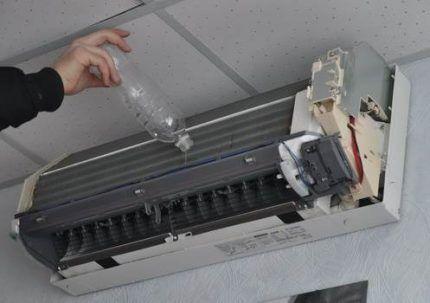 Очистка сетчатого фильтра