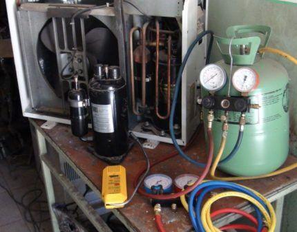 Замена компрессора в сплит-системе