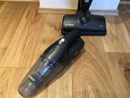 Использование пылесоса Bosch