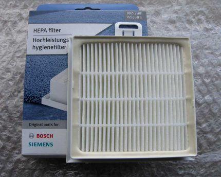 Фильтр для пылесоса Bosch