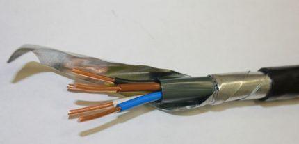 Электрический кабель ВБбШв