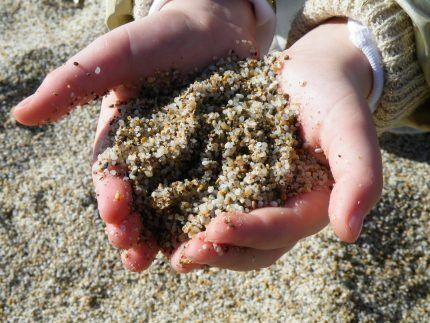 Мытый кварцевый песок