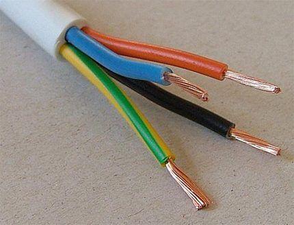 Провод электрический ПВС
