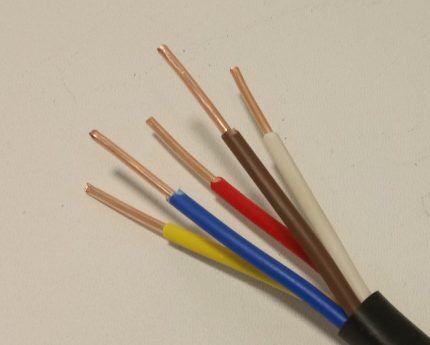 Электрический кабель ВВГ