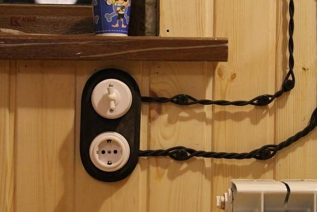 Схема электропроводки в деревянном доме