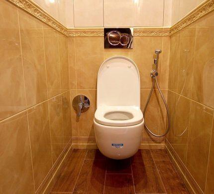 Встраиваемый гигиенический душ