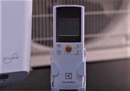 Пульт для модели Electrolux EACS/I-09HSL/N3