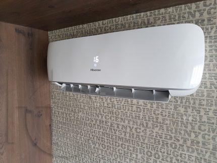Настенная сплит система бренда Hisense