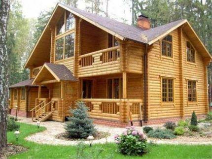Теплопотери в деревянном доме