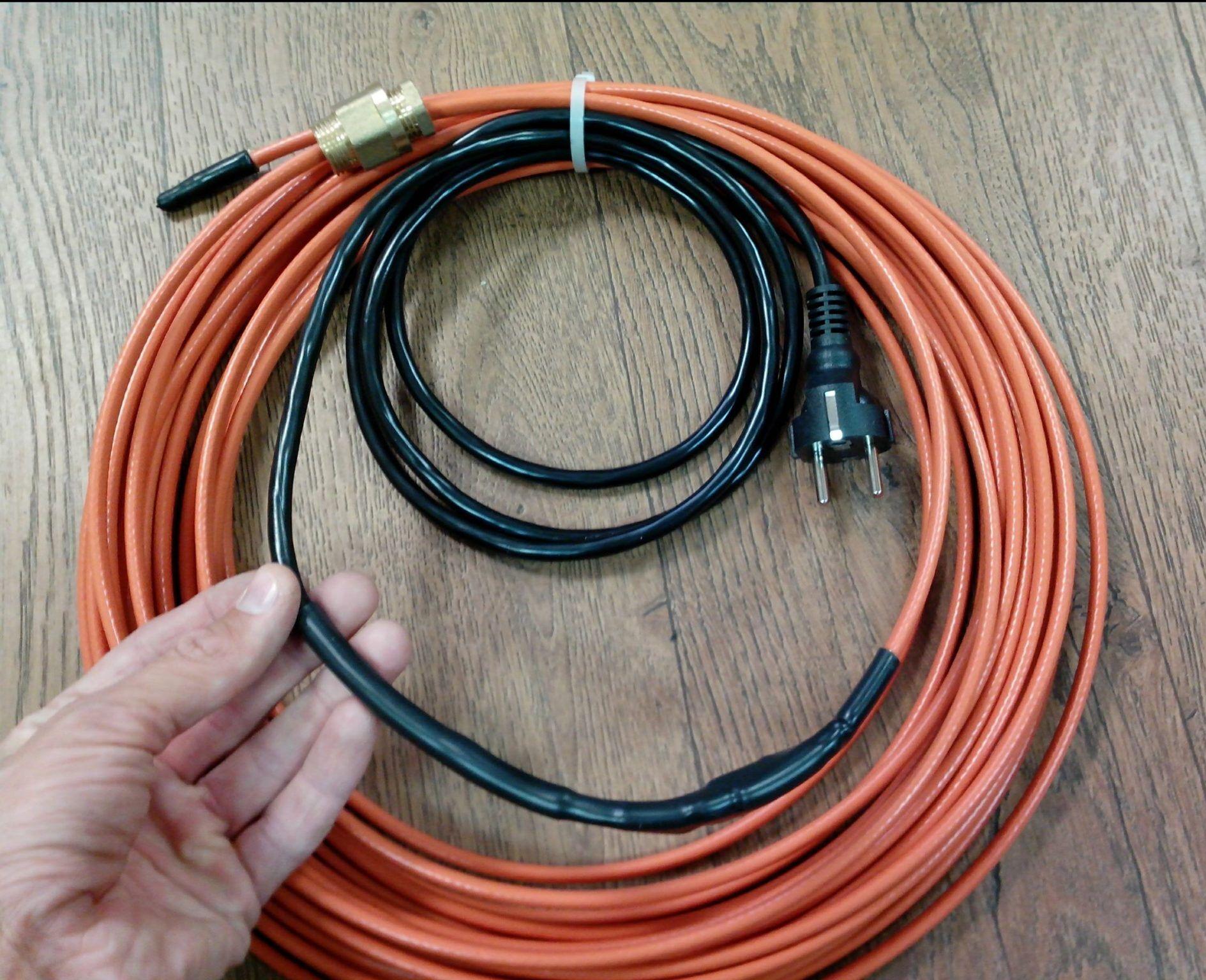 Как правильно подключить греющий кабель для водопровода