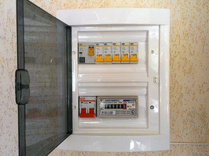 Электробокс для установки в квартире