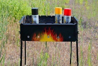 Термостойкая краска в баллончиках - особенности, преимущества и недостатки